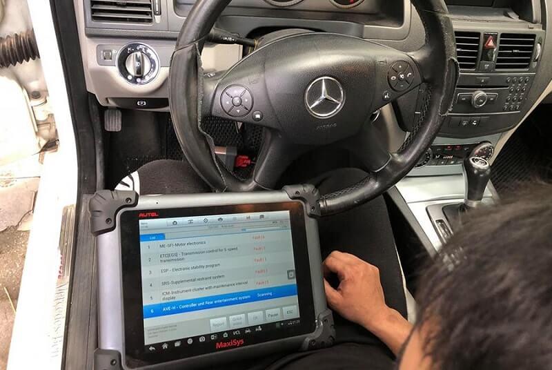 Máy chẩn đoán ô tô Maxisys MS908S Pro