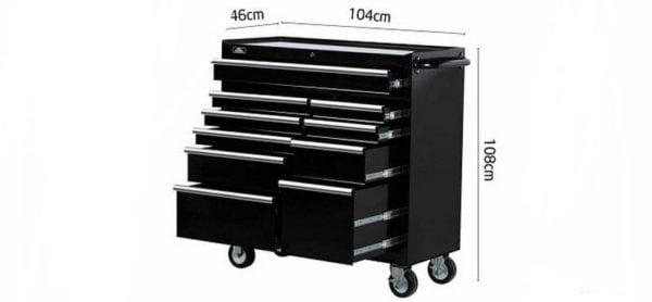 Tủ đựng đồ nghề ô tô 10 ngăn cao cấp