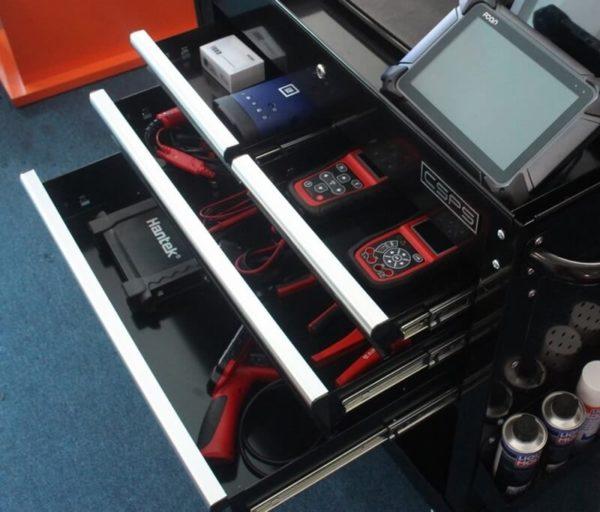 Tủ đựng đồ nghề ô tô 4 ngăn kéo