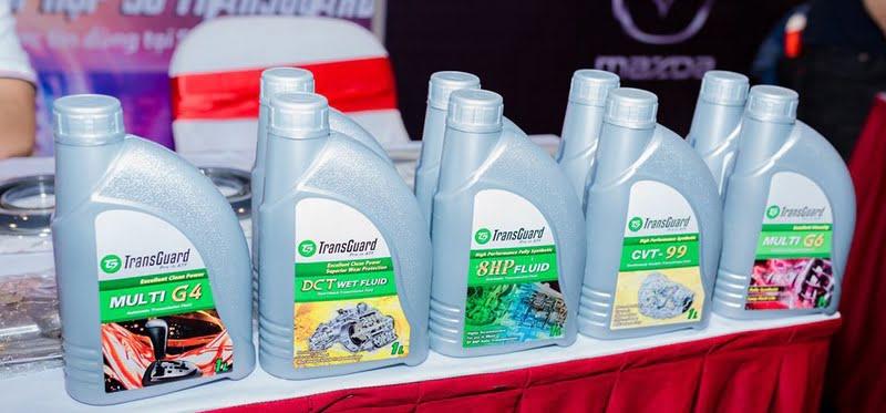 Đại lý dầu nhớt hộp số ô tô Transguard chính hãng