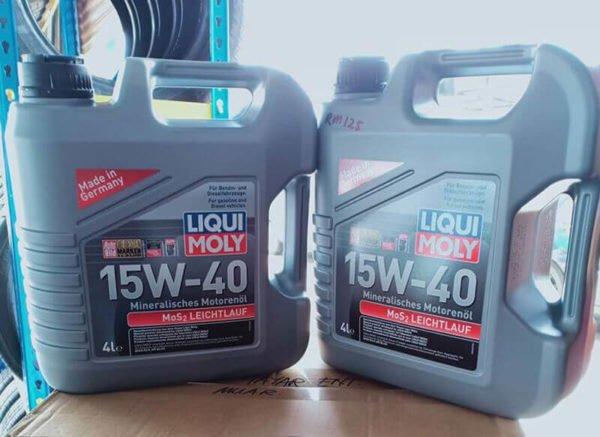 Liqui Moly MOS2 15W40 4L 2570