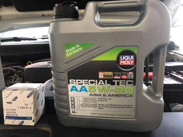 Cách Dùng Special Tec AA 5W30 Liqui Moly 7616