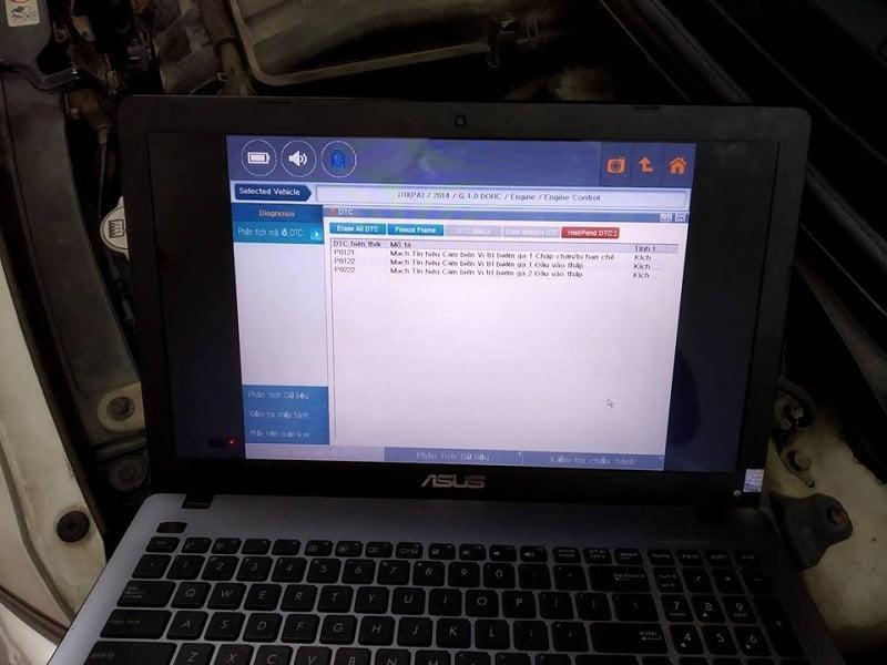 thiết bị chẩn đoán ô tô Gscan Tab