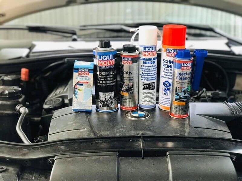 Các sản phẩm chăm sóc xe hơi phổ biến nhất